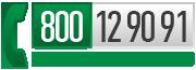 Numero Verde Gratuito 800 12 90 91